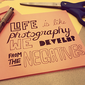 Life Photography Negatives