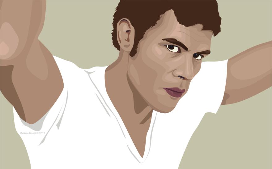 Klaus Portrait - WIP Web