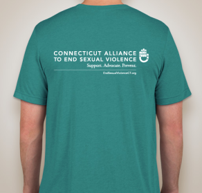 Back of T-Shirt, Solidarity for Survivors Rally, 2018