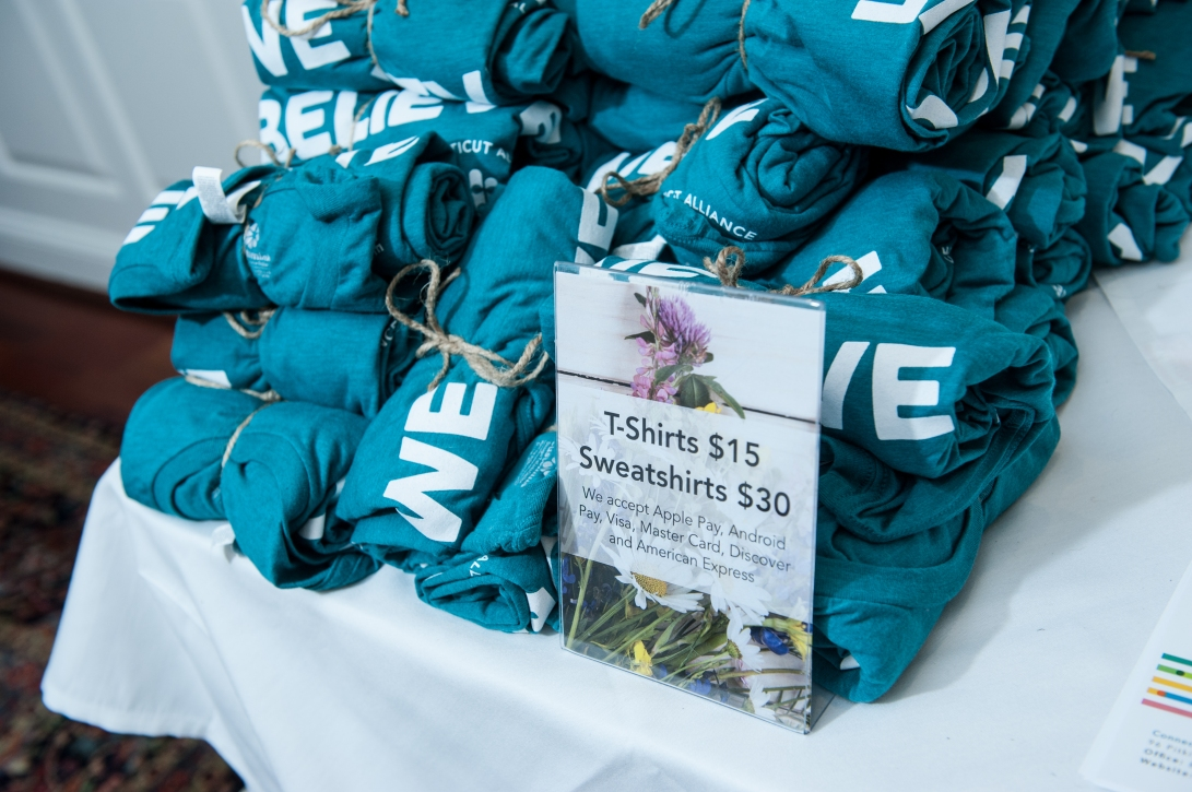 Shirts at Annual Breakfast 2018
