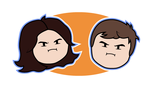Caricatures inspired by Game Grumps