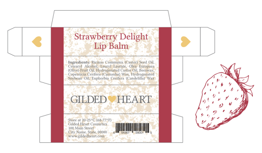 Lipbalm-Strawberry
