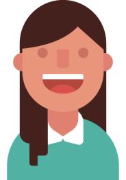 Self-portrait inspired by Duolingo